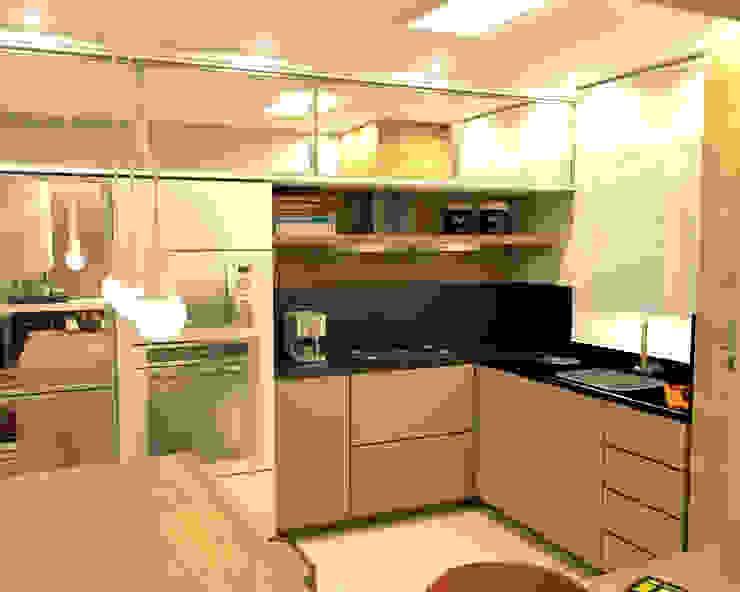 Modern kitchen by MQ Design Interiores Modern