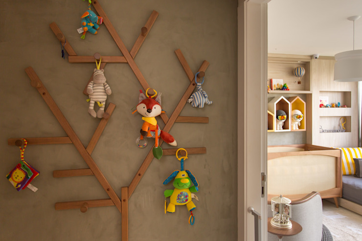غرفة الاطفال تنفيذ Pri Martins Arquitetura, تبسيطي