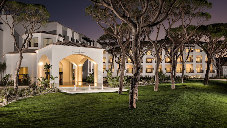 Pine Cliffs Ocean Suites Hotel Hotéis coloniais por Ecossistemas Colonial