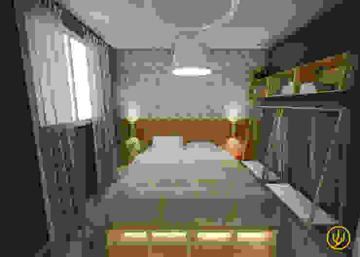 Apartamento Tropicália Yuri Rebello - Arquitetura Consciente Quartos tropicais