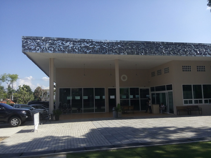 โครงการปรับปรุง อาคารสัมมนาเดิม โดย Identity Design & Architecture Part.,Ltd โมเดิร์น