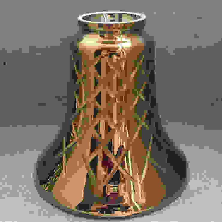 ガラスにゴールドメッキ: sorama me Inc.が手掛けたミニマリストです。,ミニマル