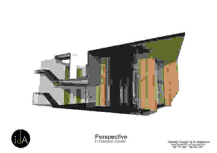 โครงการ ออกแบบตกแต่ง ส่วนโถงต้อนรับ U-Campus condo : ผสมผสาน  โดย Identity Design & Architecture Part.,Ltd, ผสมผสาน