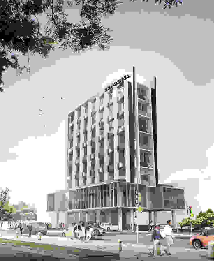 CEMPAKA PUTIH CONDOTEL - JAKARTA UTARA Hotel Modern Oleh IMG ARCHITECTS Modern