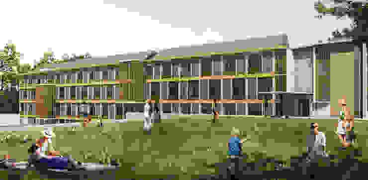RANDU HOTEL & RESORT - CIKARANG, JAWA BARAT Hotel Gaya Rustic Oleh IMG ARCHITECTS Rustic