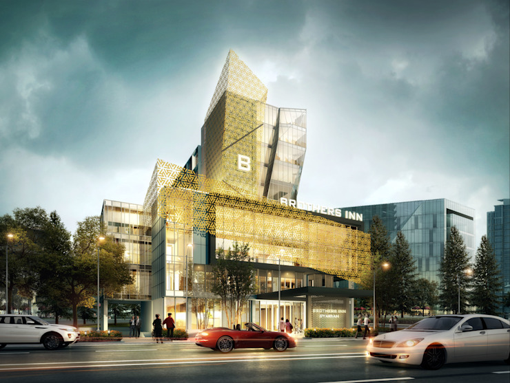 BROTHERS HOTEL - SOLO, JAWA TENGAH Hotel Modern Oleh IMG ARCHITECTS Modern