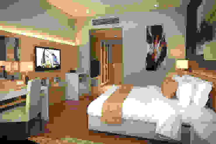 ARDJUNA HOTEL - BANDUNG, JAWA BARAT Hotel Modern Oleh IMG ARCHITECTS Modern