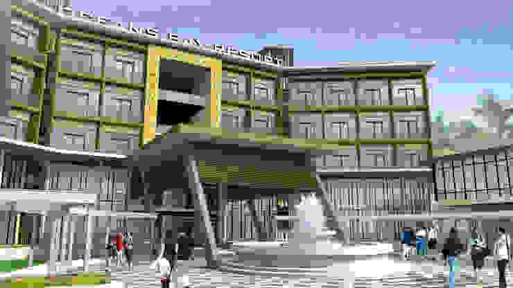 OCEANS BAY RESORT - KENDAWANGAN, KALIMANTAN BARAT Hotel Modern Oleh IMG ARCHITECTS Modern