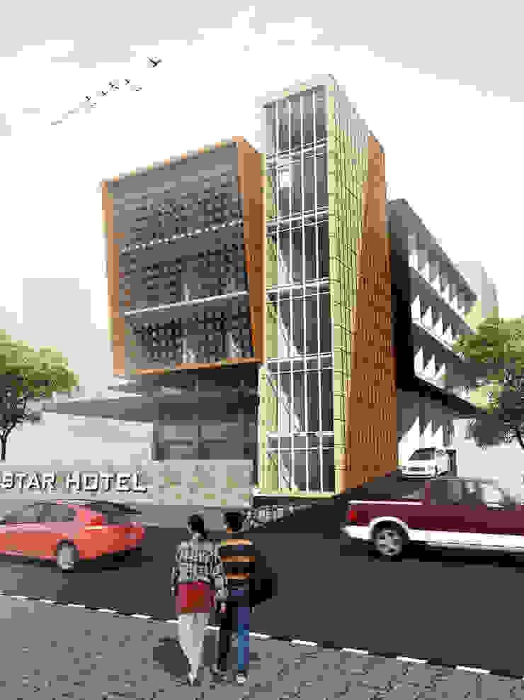 STAR HOTEL - BANDUNG, JAWA BARAT Hotel Modern Oleh IMG ARCHITECTS Modern