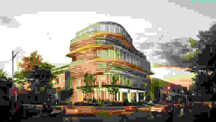 GRAHA PSP - SOLO, JAWA TENGAH Bangunan Kantor Modern Oleh IMG ARCHITECTS Modern