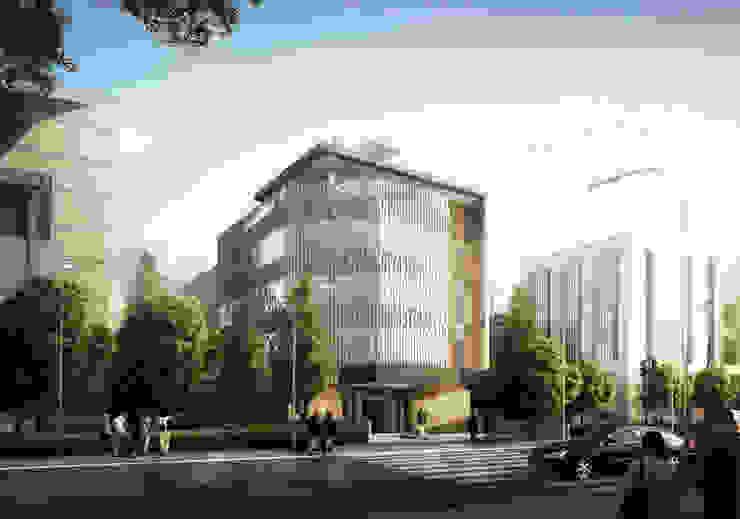 SUNDA OFFICE - BANDUNG, JAWA BARAT Bangunan Kantor Modern Oleh IMG ARCHITECTS Modern