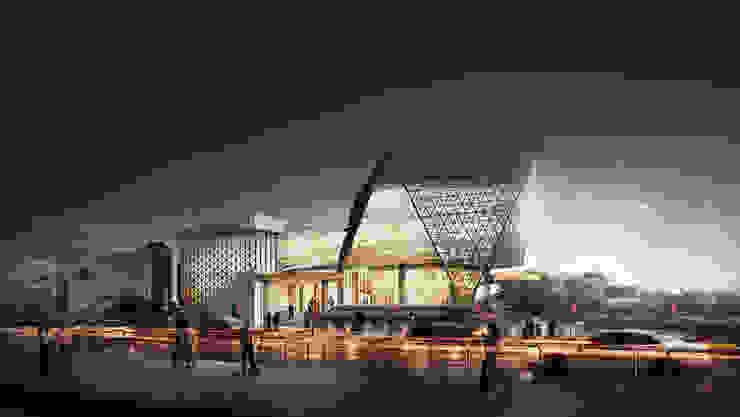 SPORTS CENTER - SOLO, JAWA TENGAH Ruang Komersial Modern Oleh IMG ARCHITECTS Modern