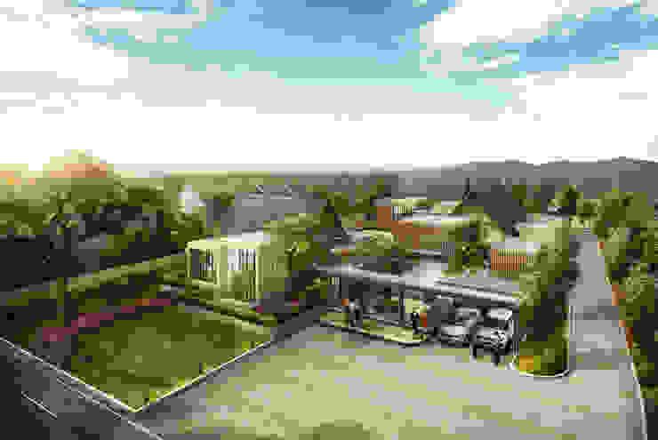 HANAZAKURA HOUSE - BANJARMASIN, KALIMANTAN SELATAN Rumah Modern Oleh IMG ARCHITECTS Modern