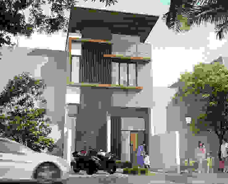SADEWA HOUSE - BANDUNG, JAWA BARAT IMG ARCHITECTS Rumah Modern