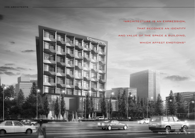 IMG ARCHITECTS Bangunan Kantor Modern Oleh IMG ARCHITECTS Modern