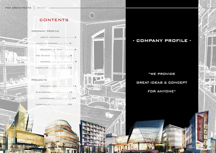 CONTENTS Bangunan Kantor Modern Oleh IMG ARCHITECTS Modern