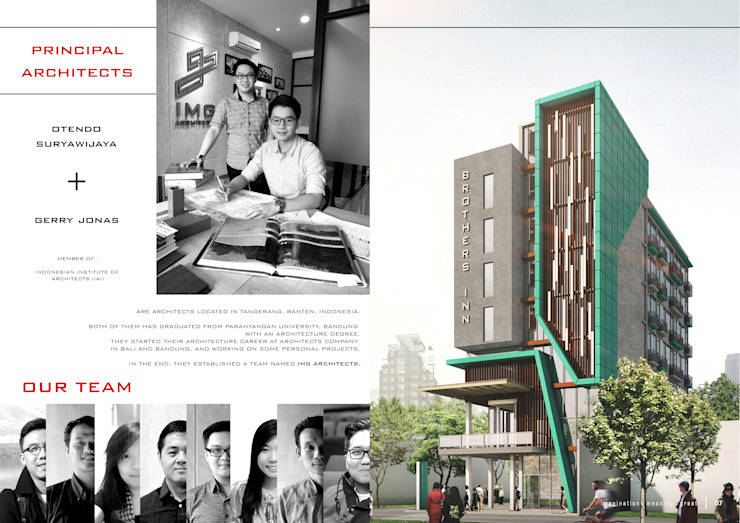 COMPANY PROFILE - PRINCIPAL Bangunan Kantor Modern Oleh IMG ARCHITECTS Modern