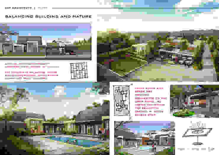 RESIDENTIAL Ruang Komersial Modern Oleh IMG ARCHITECTS Modern