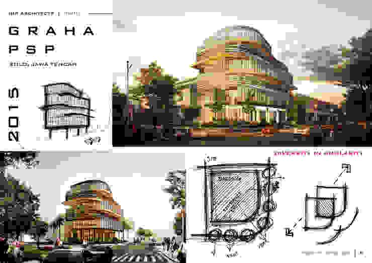 COMMERCIAL Bangunan Kantor Modern Oleh IMG ARCHITECTS Modern
