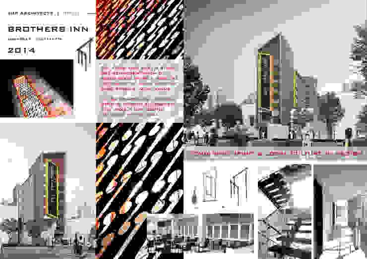 HOSPITALITY Hotel Gaya Rustic Oleh IMG ARCHITECTS Rustic