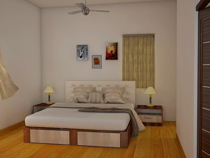 Independent Bungalow, RR Nagar—Mr. Mohan Modern style bedroom by DECOR DREAMS Modern