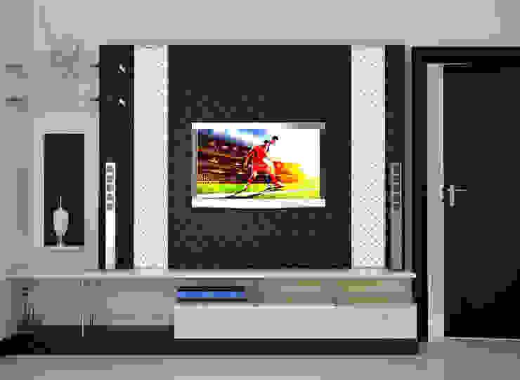 Independent Bungalow, RR Nagar—Mr. Mohan: modern  by DECOR DREAMS,Modern