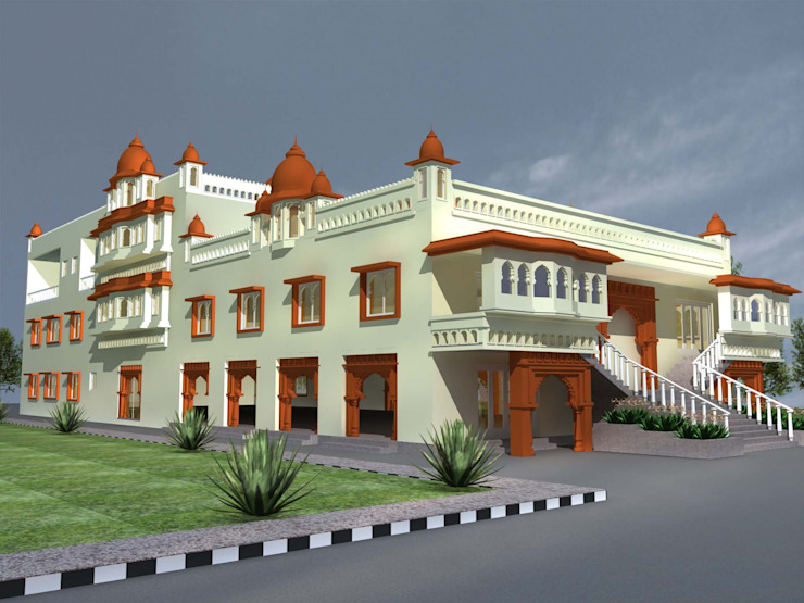 Best Interior Designers In Hyderabad: asian  by SCA Projects Pvt Ltd,Asian Ceramic