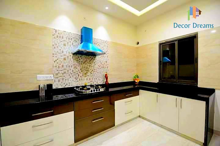 Independent Bungalow - Mr. Modi Scandinavian style kitchen by DECOR DREAMS Scandinavian