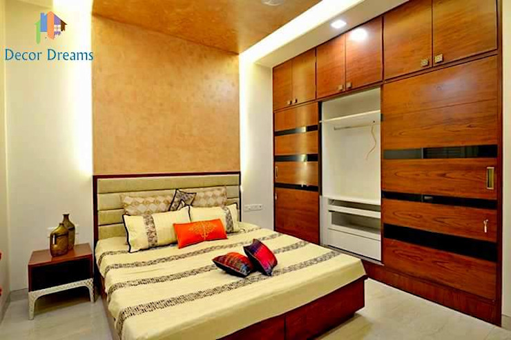 Independent Bungalow - Mr. Modi Scandinavian style bedroom by DECOR DREAMS Scandinavian