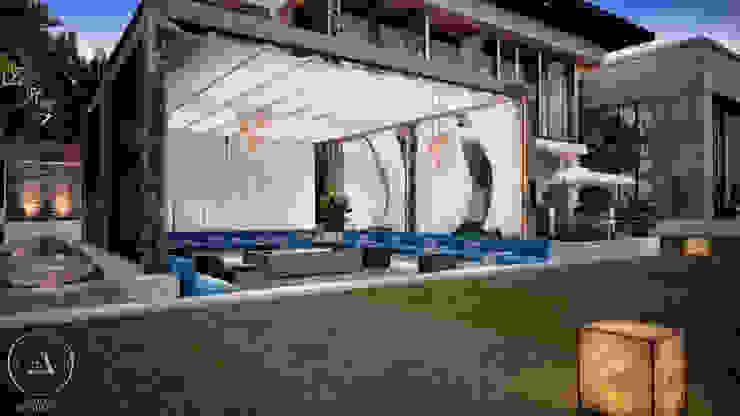 MECCA: حديث  تنفيذ Echelle Architects, حداثي