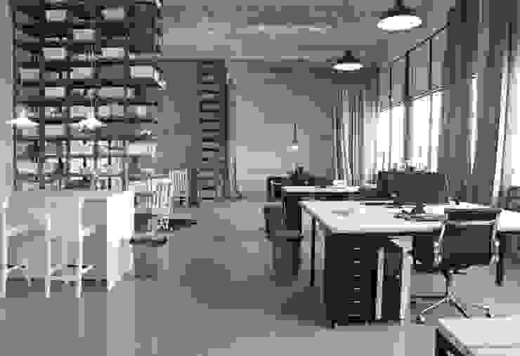 Kantoor Futuron Industriële kantoor- & winkelruimten van You surround You Industrieel
