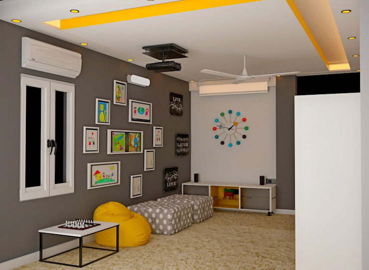 JR Greenwich Villas, Sarjapur Road—Ms. Natasha by DECOR DREAMS Eclectic