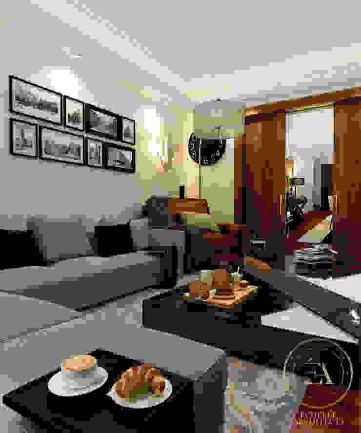 Living Room من Echelle Architects