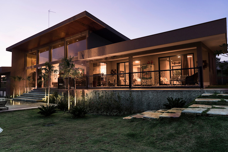Sandra Kátia Junqueira Terrace house
