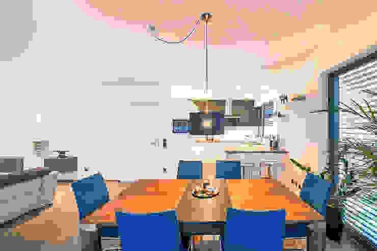 Spiel mit drei Kuben Moderne Esszimmer von Helwig Haus und Raum Planungs GmbH Modern