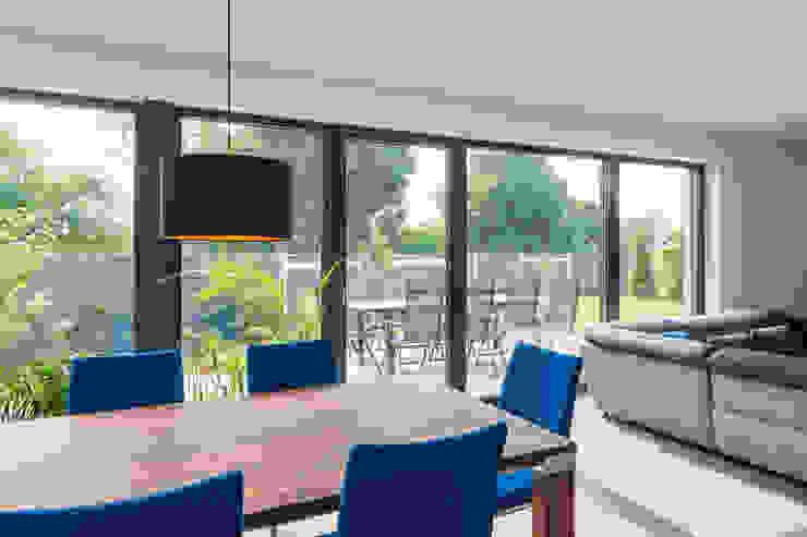 Spiel mit drei Kuben Moderne Wohnzimmer von Helwig Haus und Raum Planungs GmbH Modern