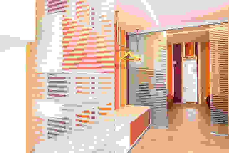 Hotel Tenda Rossa - Suites Daniele Menichini Architetti Hotel moderni Vetro Arancio