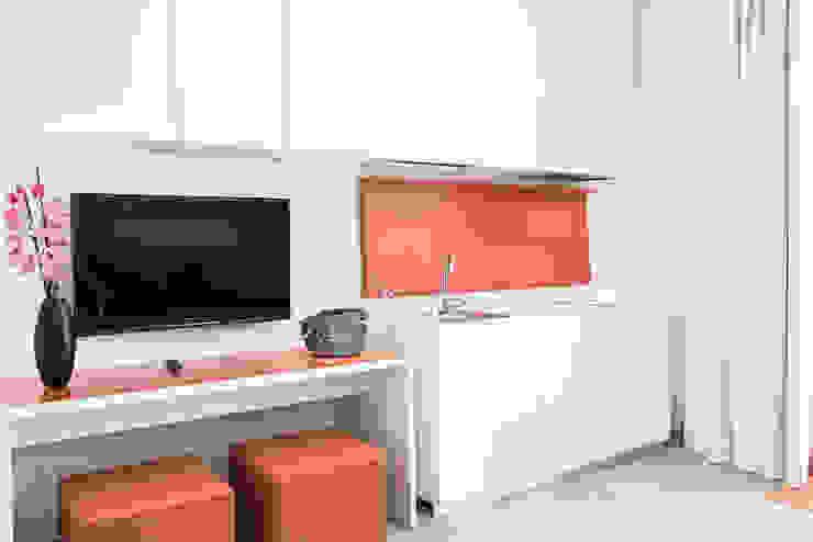 Hotel Tenda Rossa - Suites Daniele Menichini Architetti Hotel moderni MDF Arancio