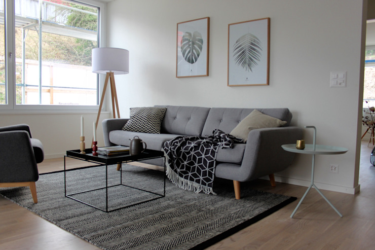 Livings de estilo  por Home Staging Nordisch,