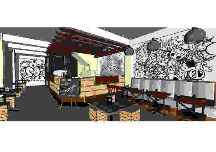 Tempat pemesanan Asanka Interior Ruang Makan Gaya Industrial