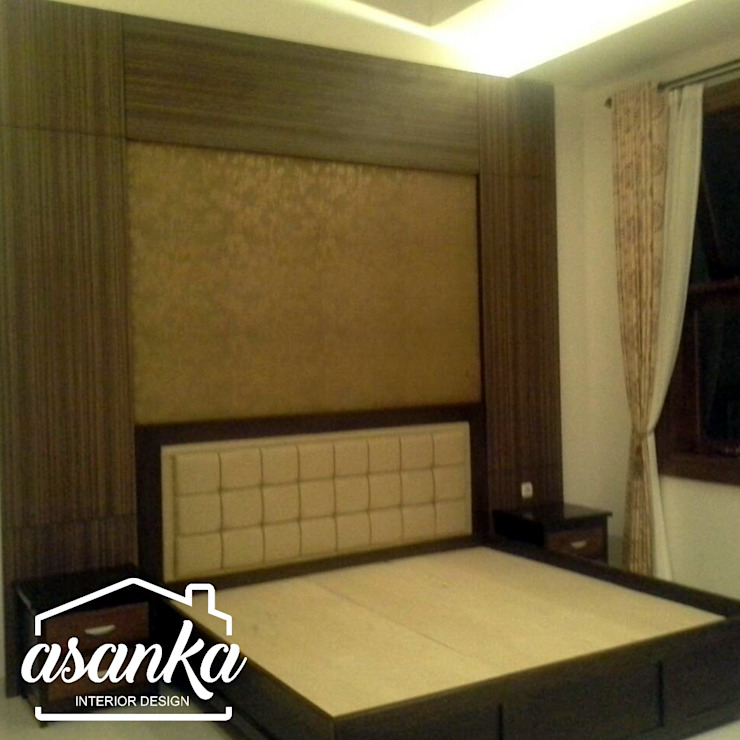 Master Bedroom:modern  oleh Asanka Interior, Modern