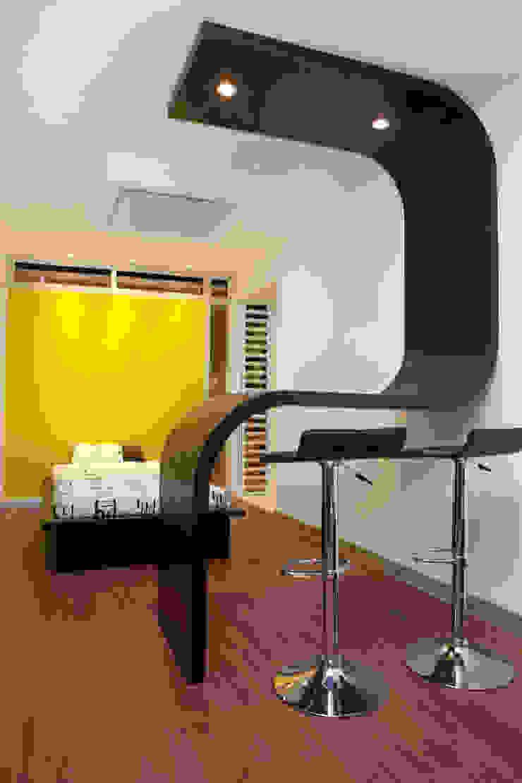Interior del contenedor de Home Box Arquitectura Moderno