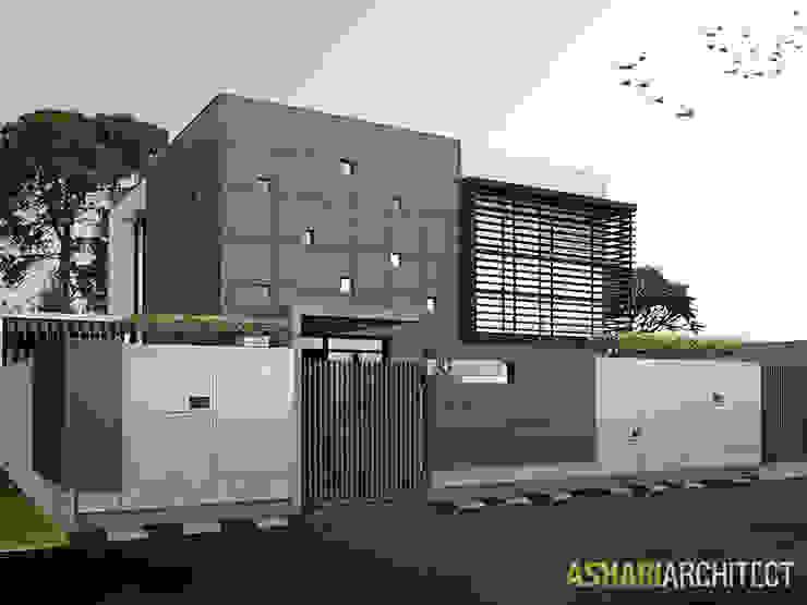 Casas de estilo  por Ashari Architect