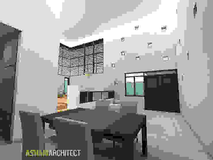 Palembang House Ruang Makan Modern Oleh Ashari Architect Modern