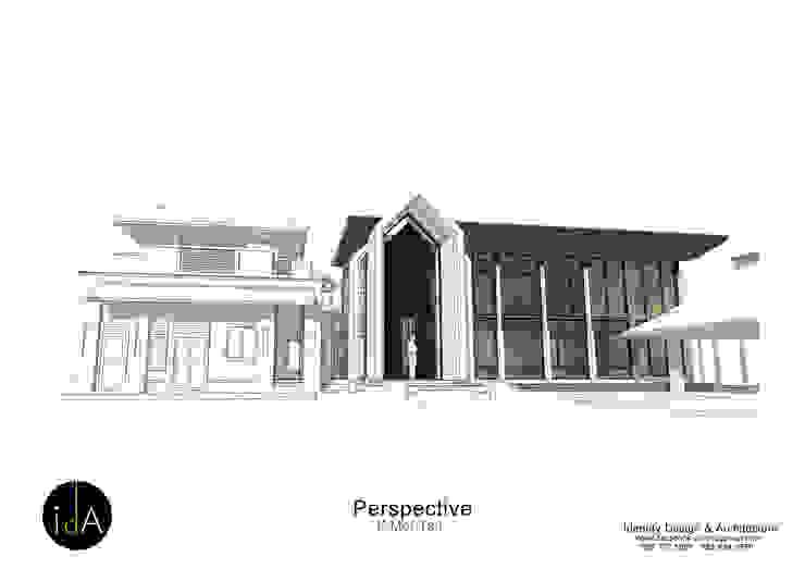 ต่อเติมบ้าน คุณหมอตาล โดย Identity Design & Architecture Part.,Ltd คลาสสิค