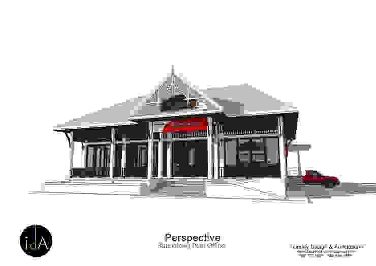 ปรับปรุงอาคารสำนักงาน ไปรษณีย์ อ.สันป่าตอง จ.เชียงใหม่ โดย Identity Design & Architecture Part.,Ltd ผสมผสาน