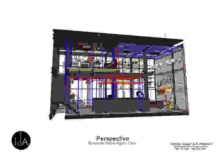 Renovate Begin Again cafe โดย Identity Design & Architecture Part.,Ltd อินดัสเตรียล