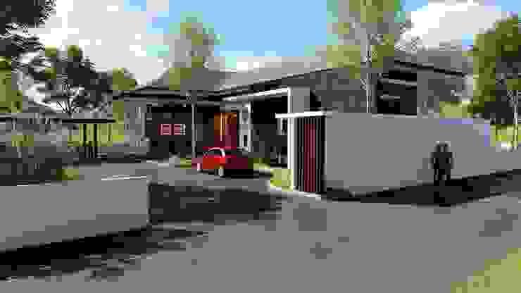 บ้านเล่นระดับ คุณนุ๊ก อำเภอแม่สอด โดย Tcm Design