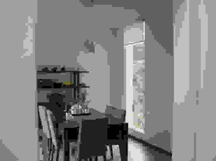 전원 주택 시공 컨트리스타일 다이닝 룸 by (주)현대디자인건축 컨트리