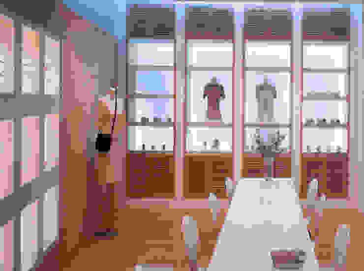의류매장: (주)현대디자인건축의 현대 ,모던